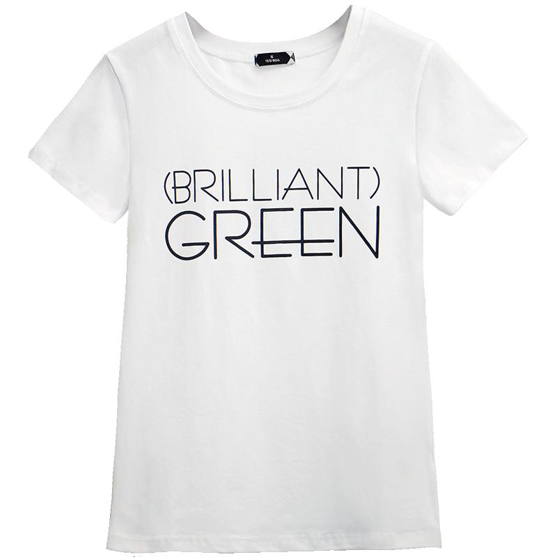 2018夏装新款短袖女t恤韩版修身夏季女装白色半袖体恤女上衣服