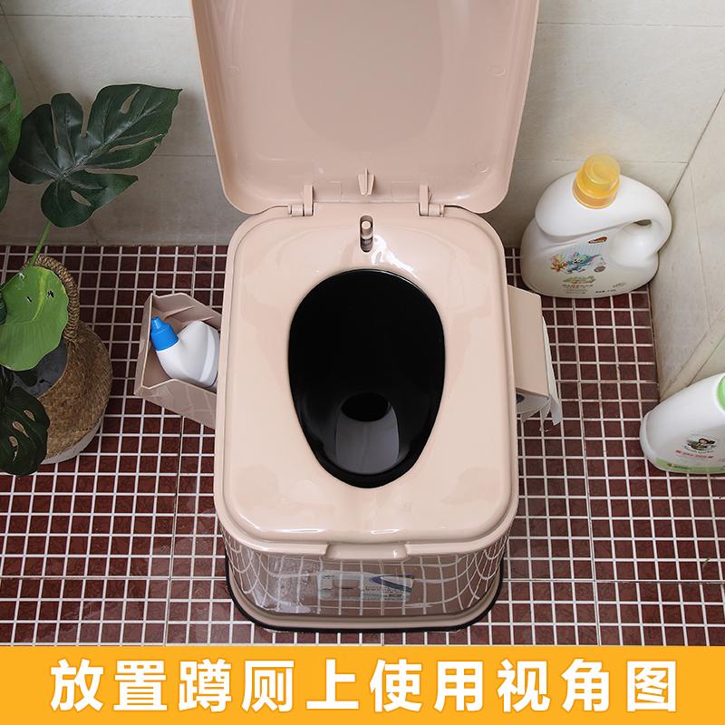 坐便椅老人移动马桶孕妇病人坐便器便携式马桶家用尿桶舒适座便器