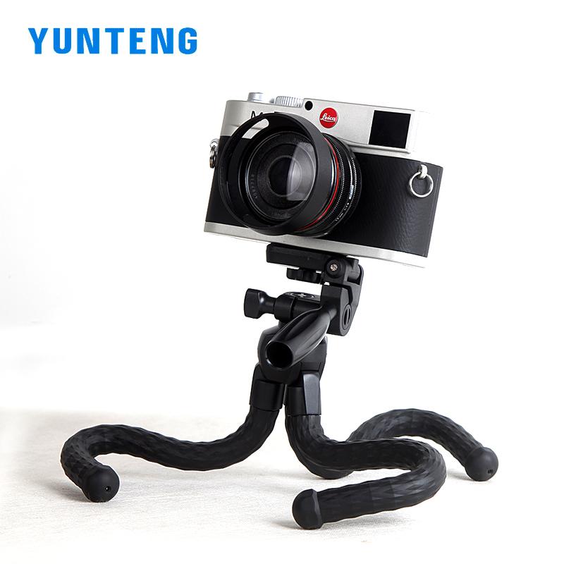 云腾3280手机支架八爪鱼三脚架微单相机桌面平板直播抖音