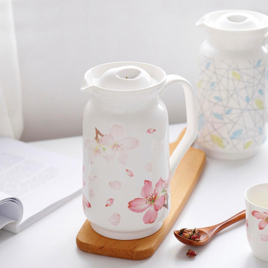 包郵日式創意家用2L大容量陶瓷涼水壺茶壺溫冷水壺耐高溫茶具耐熱