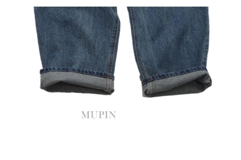显瘦好搭复古色慵懒范高腰阔腿裤长裤牛仔裤女 CHAO 胸以下全是腿