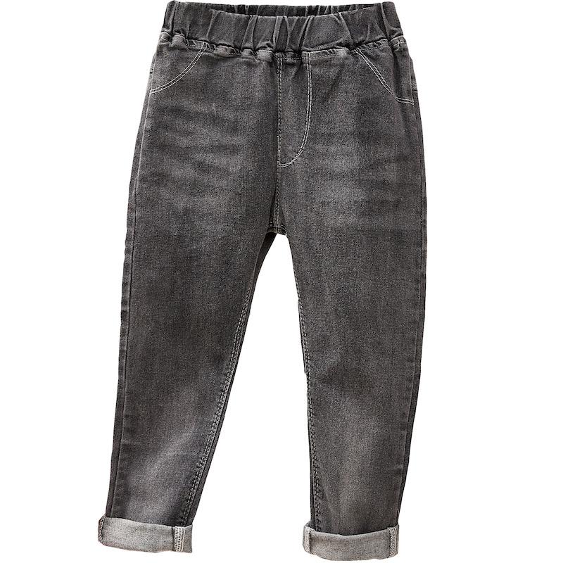 女童牛仔裤春季小女孩休闲裤中大小童长裤弹力裤子3579岁儿童单裤