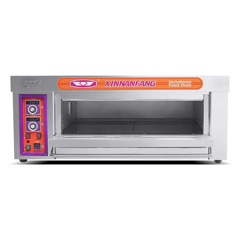 新南方YXD-20K带定时单层双盘蛋糕烤箱 商用电热面包烤箱 电烤炉