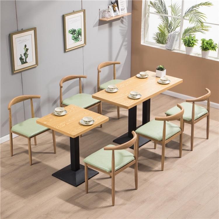 合快餐店员工食堂桌椅