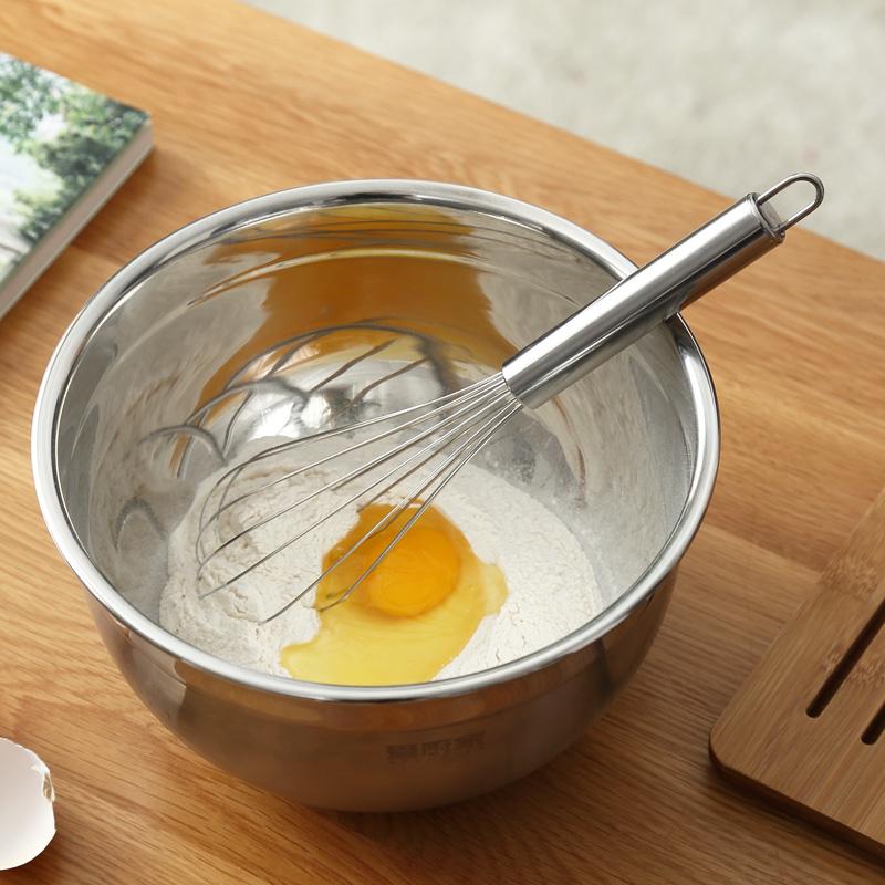 【愛廚家】手動打蛋器家用手持打發不鏽鋼攪蛋棒打雞蛋攪拌器廚房
