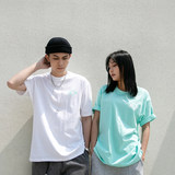 Prank kiss Li Yunuo tide brand summer new loose half-sleeved trend compassionate couple short-sleeved T-shirt men