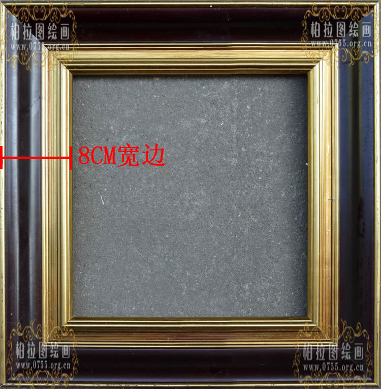 Buy Solid wood frame oil painting frame picture frames custom ...