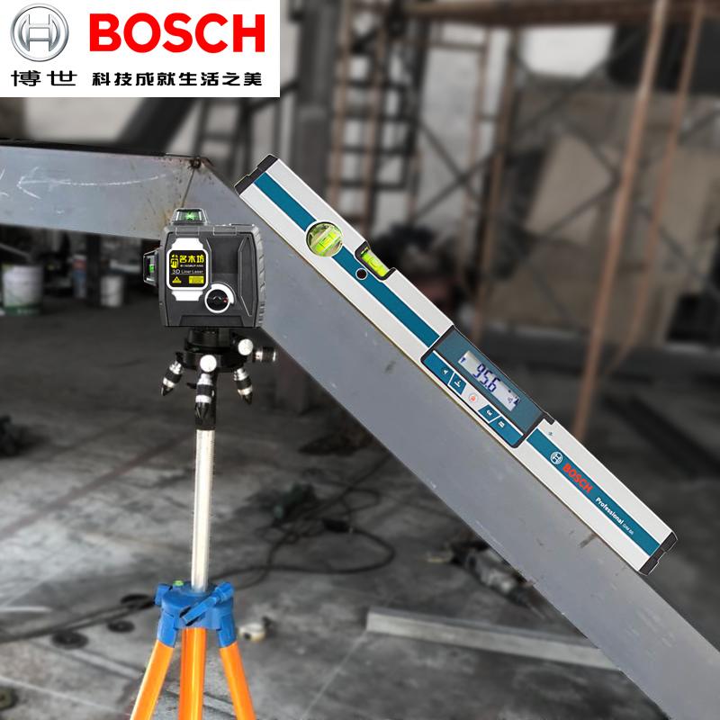 BOSCH博世数字倾角水平尺GIM60水平仪器倾角尺电子数显水平仪