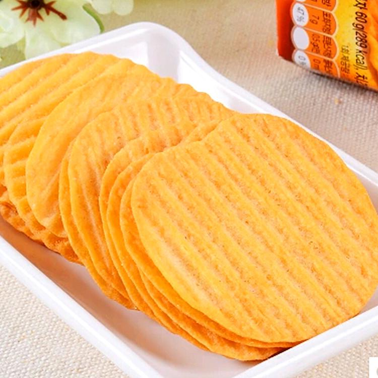 原味绿酪味黄油蒜香味多种口味 80g 好丽友薯片 韩国进口休闲零食品