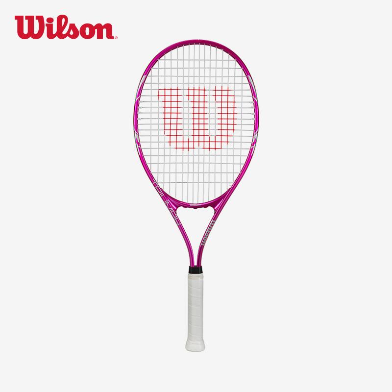 Wilson威尔胜 多色可选大拍面 大学生单人拍 男女初学者网球拍XL