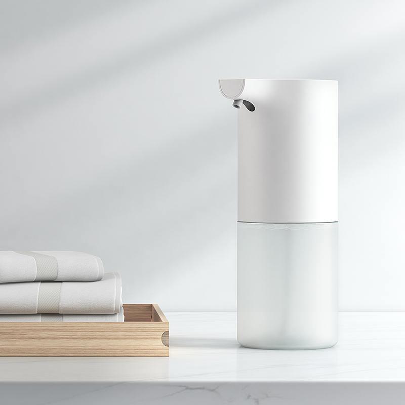 伸手就出泡,免接触:小米 米家自动洗手机套装