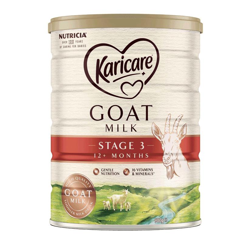 澳洲可瑞康羊奶粉3段新包装 新西兰进口karicare宝宝婴儿奶粉900g