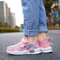 女童运动鞋正品儿童名牌轻便跑步 软底老爹防水跑步鞋儿童休闲鞋 (¥118)
