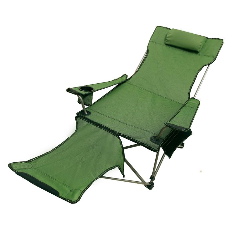 户外躺椅折叠便携式超轻车载露营大人午休午睡椅休闲沙滩钓鱼椅子