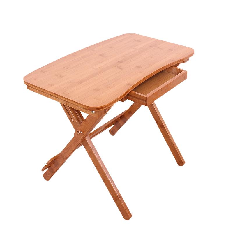 包邮儿童学习可升降楠竹桌椅可调节实木学生写字书桌可折叠四方桌
