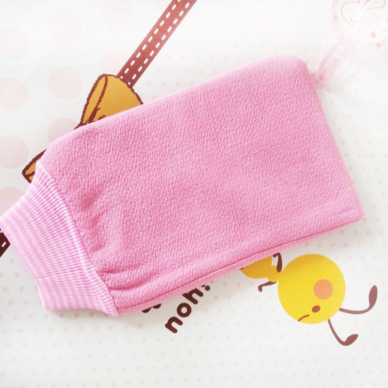 磨砂强力搓澡巾手套双面加厚搓泥长条巾免搓洗澡巾搓背神器去角质