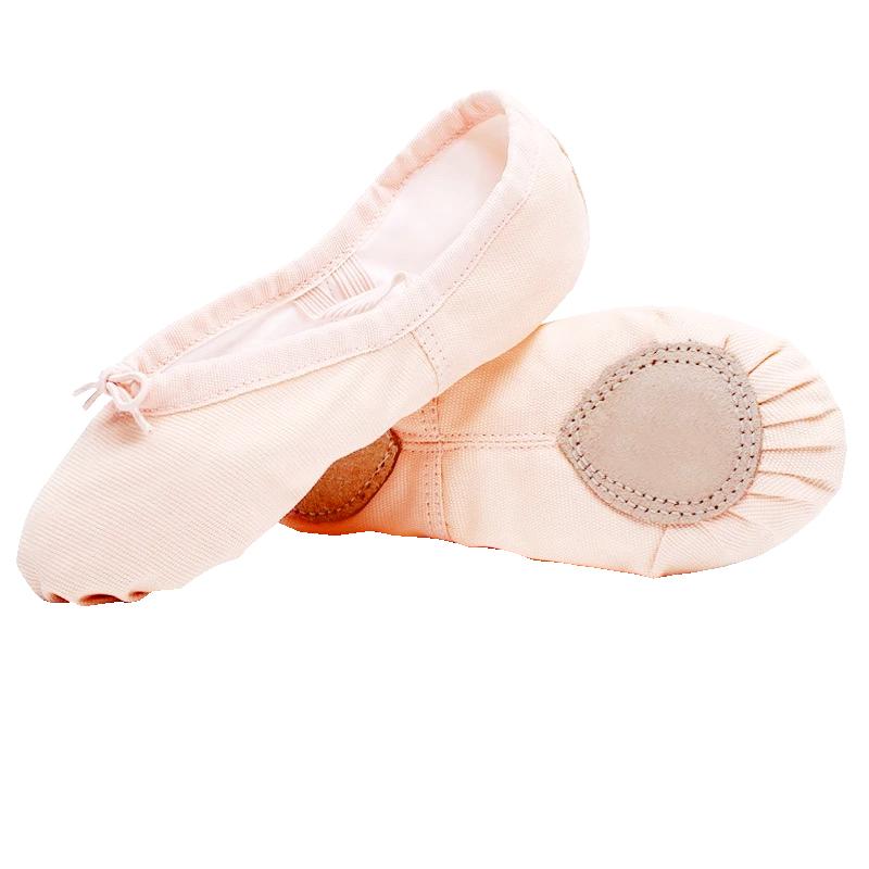 儿童舞蹈鞋女童幼儿园芭蕾舞鞋宝宝形体瑜伽鞋练功鞋软底跳舞鞋