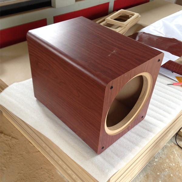 华纳之声 6寸8寸10寸12寸蓝牙迷宫带通低音炮 双喇叭空箱来图制箱