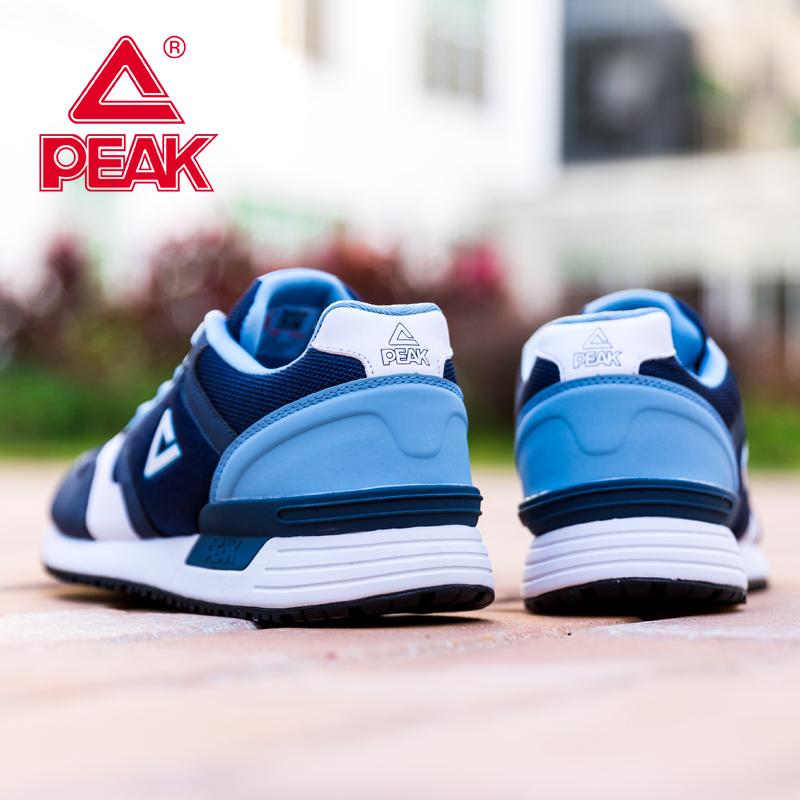匹克男鞋跑步鞋2018新款夏季透气复古休闲鞋板鞋低帮鞋子运动鞋男