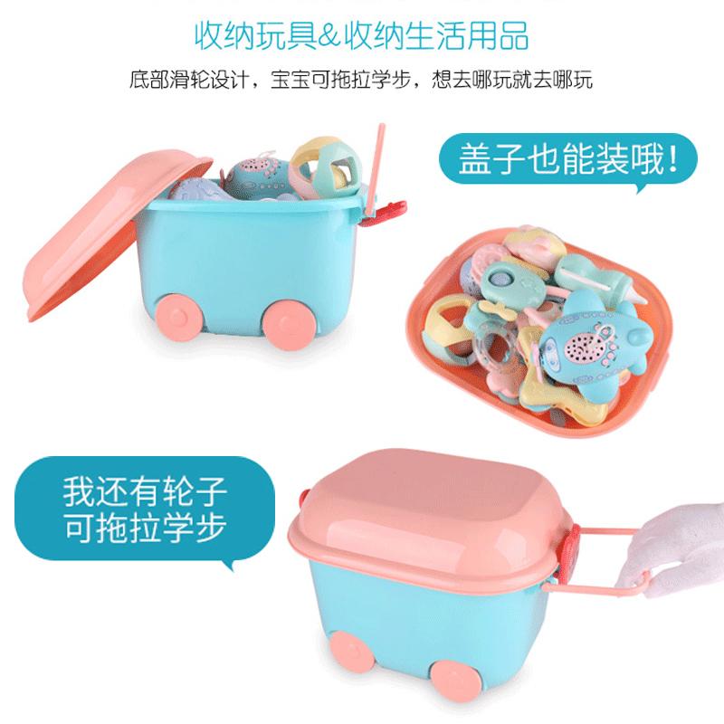 新生儿礼盒玩具套装刚出生宝宝满月礼物送礼婴儿用品大全母婴秋冬