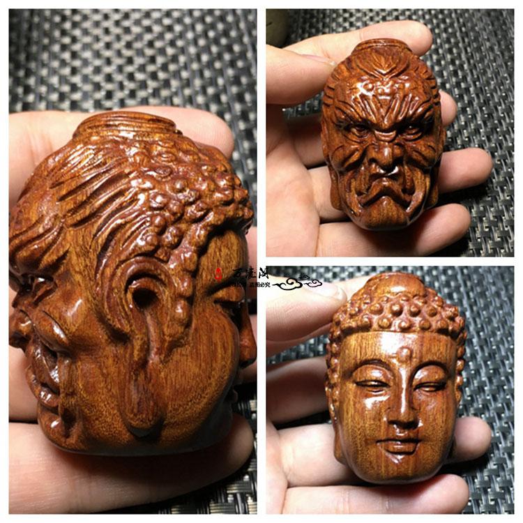 原木料老撾黃花梨木雕葫蘆手把件手玩件木雕工藝品掛件貔貅包郵