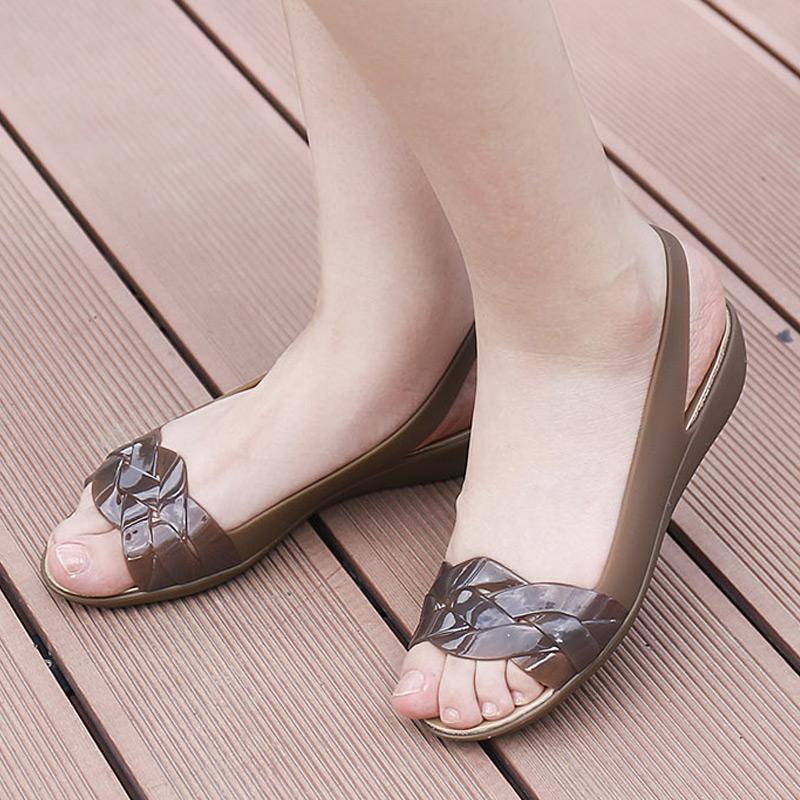 Crocs女鞋卡骆驰伊莎贝拉夏季浅口防滑休闲鞋轻便低帮凉鞋/204774