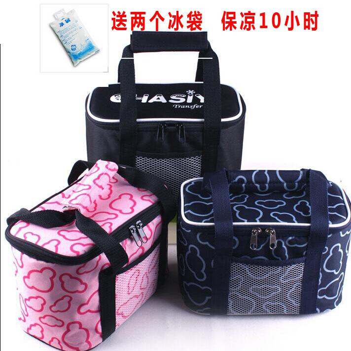 專業母乳保溫包 加厚飯盒袋手提午餐保溫包 保冷密封防漏 保溫袋