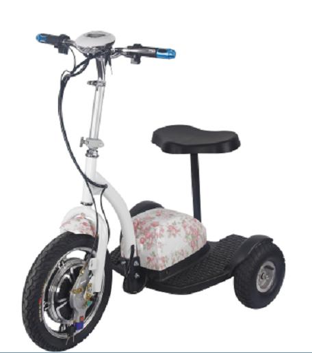 轻便迷你48v折叠老人电动三轮车代步车站立车女士迷你电动滑板车