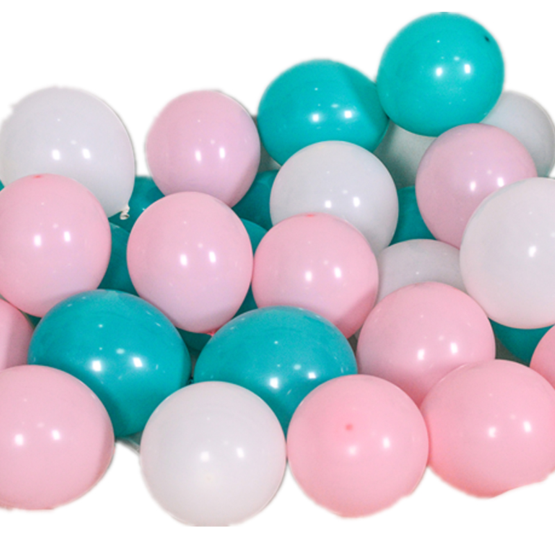 加厚防爆气球结婚装饰订婚儿童新年元旦100个汽场景布置生日派对