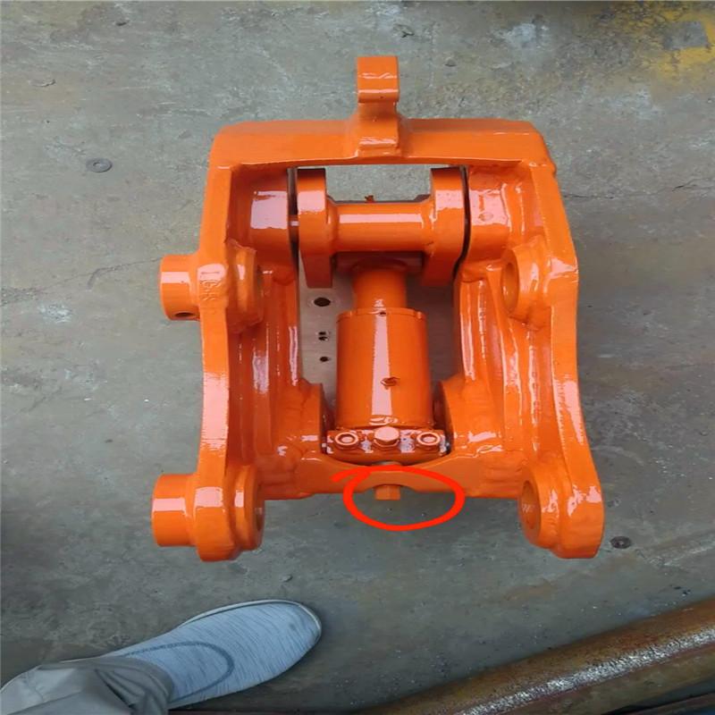 破碎锤挖斗更换快速连接器手动机械快接液压快换其他液压工具