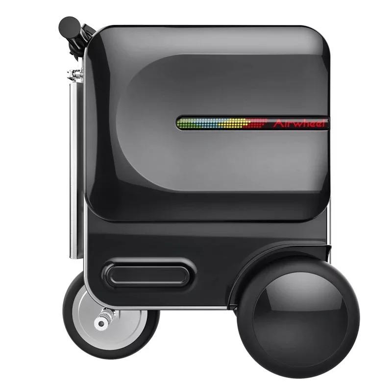 爱尔威智能骑行旅行箱大人小电动代步车学生行李箱包神器 Airwheel