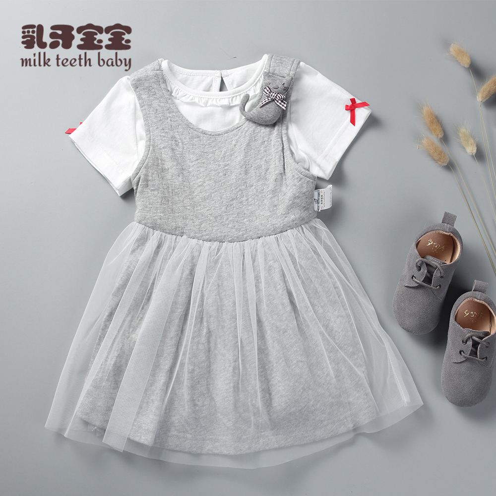 c48382ea1b1e Buy 2016 summer new baby dress princess dress female baby skirt cotton 0-1-2  years old children dress skirt in Cheap Price on m.alibaba.com