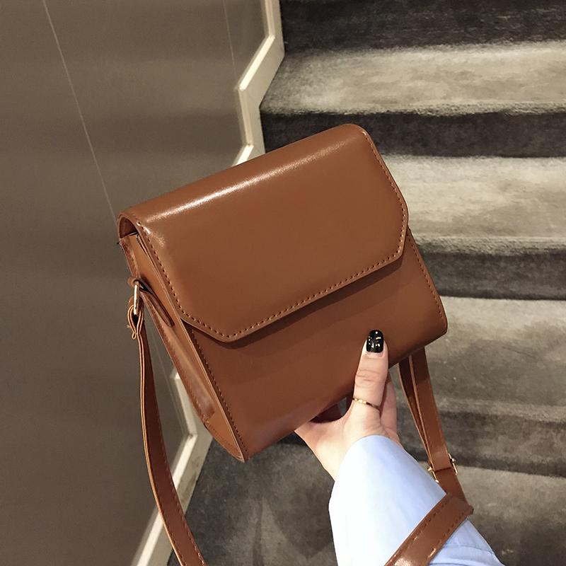 女士单肩包斜挎包 2018 新款潮韩版简约百搭时尚 2019 上新小包包女包
