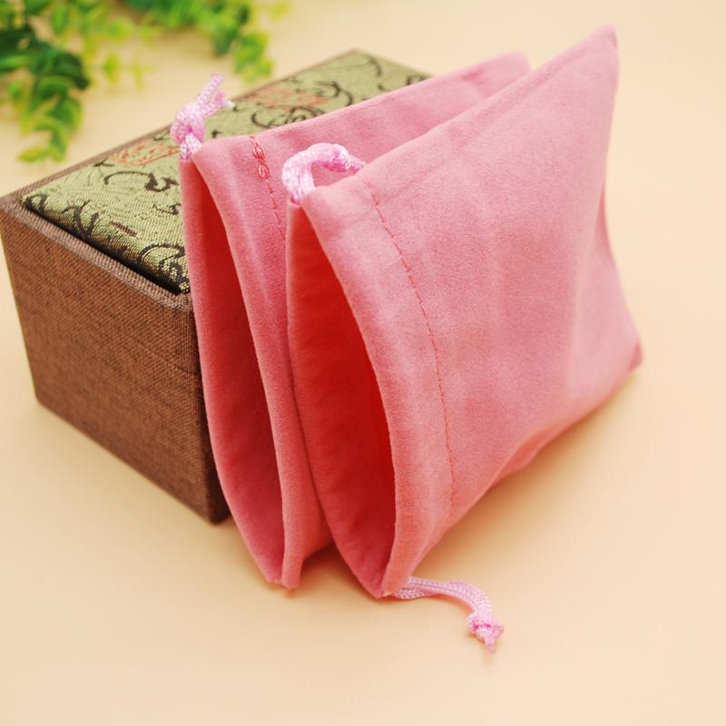 首饰袋绒布文玩珠宝玉器饰品收纳小布袋束口袋抽绳袋包装礼品袋子