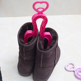 Youzhiju creative foldable love boots shoe clip long and short boot support frame deodorant shoe clip