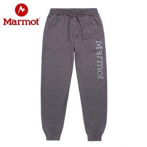 marmot/土拨鼠20春夏新款户外弹力透气运动男士束脚卫裤休闲裤