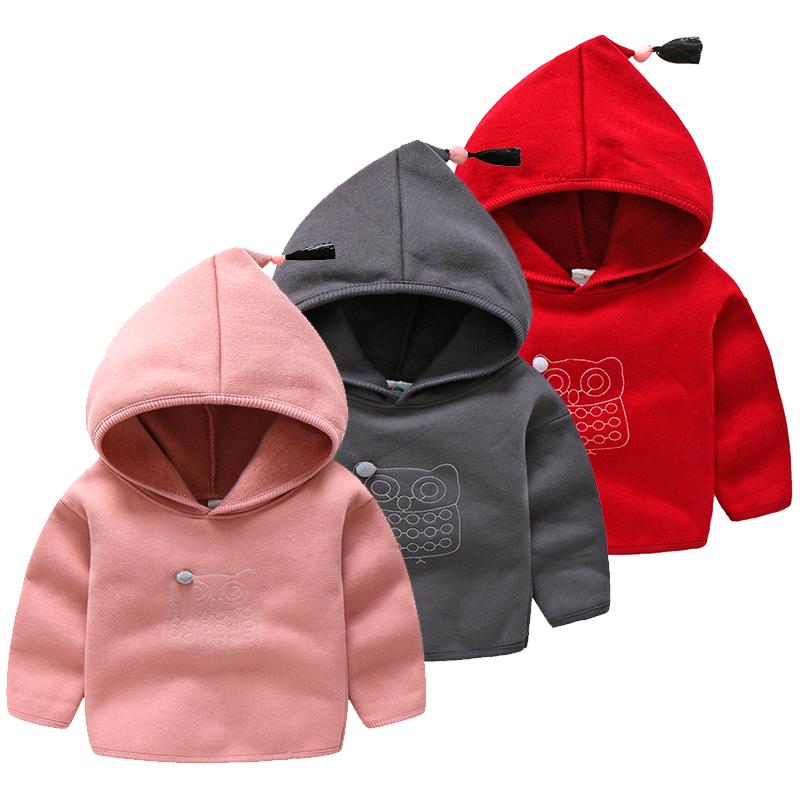 [淘寶網] 寶寶連帽衛衣 2018春裝新款男童童裝兒童長袖外套wt-7931