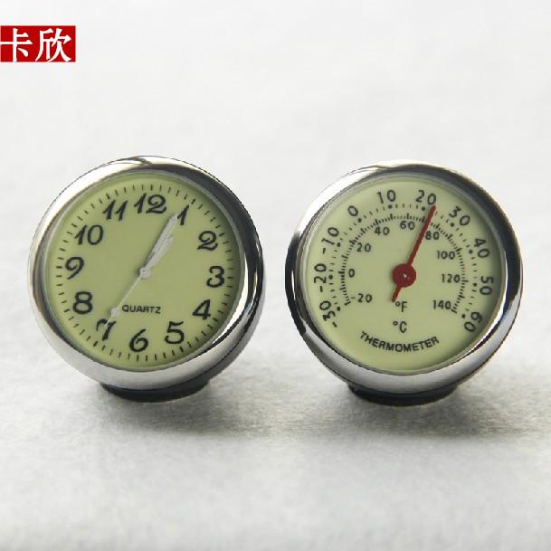汽车电子表车用湿度计 车载温度计 车载时钟 石英钟表 耐高温低温