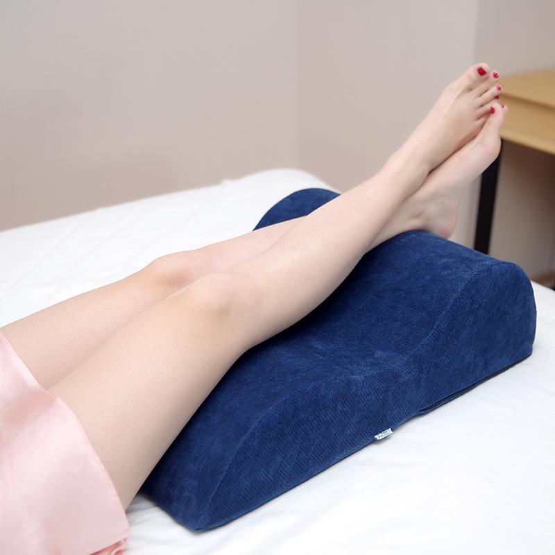 孕婦翹腿枕頭墊腿枕抬腳墊腿枕睡覺抬高腿枕靜脈腳墊枕曲張抬腿枕