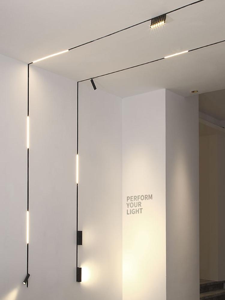 家用格栅灯洗墙射灯