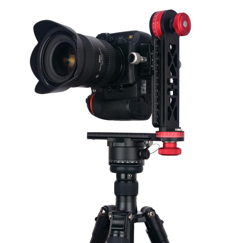 720度三脚架全景云台单反相机接片360度专业拍摄三维矩阵全景VR