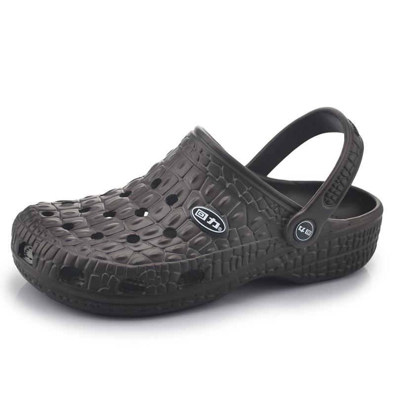 2019回力洞洞鞋男夏季新款舒适轻质透气凉鞋夏季塑料鞋防滑沙滩鞋