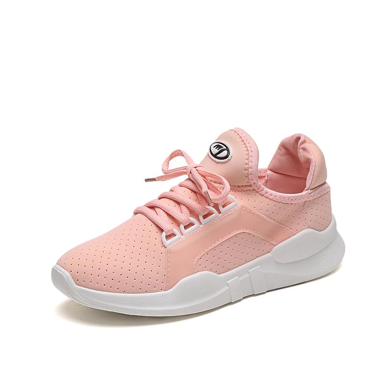2019夏季新款韩版运动鞋女鞋跑步鞋板鞋小白鞋学生休闲鞋透气网鞋