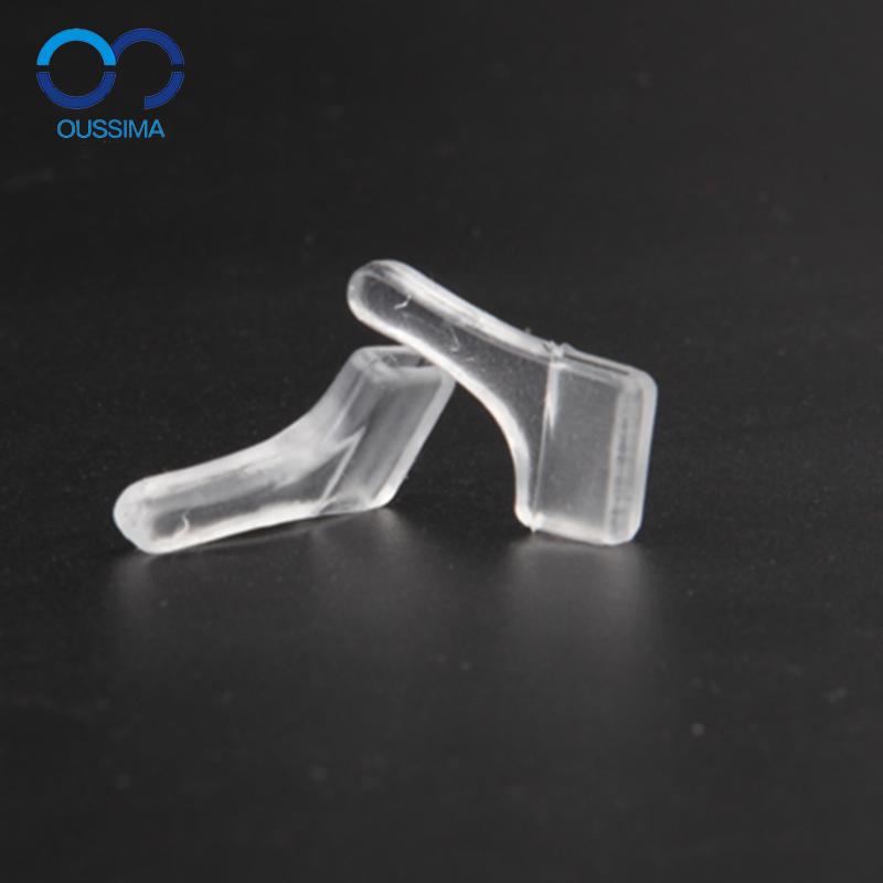 欧斯迈 硅胶眼镜防滑套 耳套 耳勾 耳托 挂固定配件 眼镜腿脚套