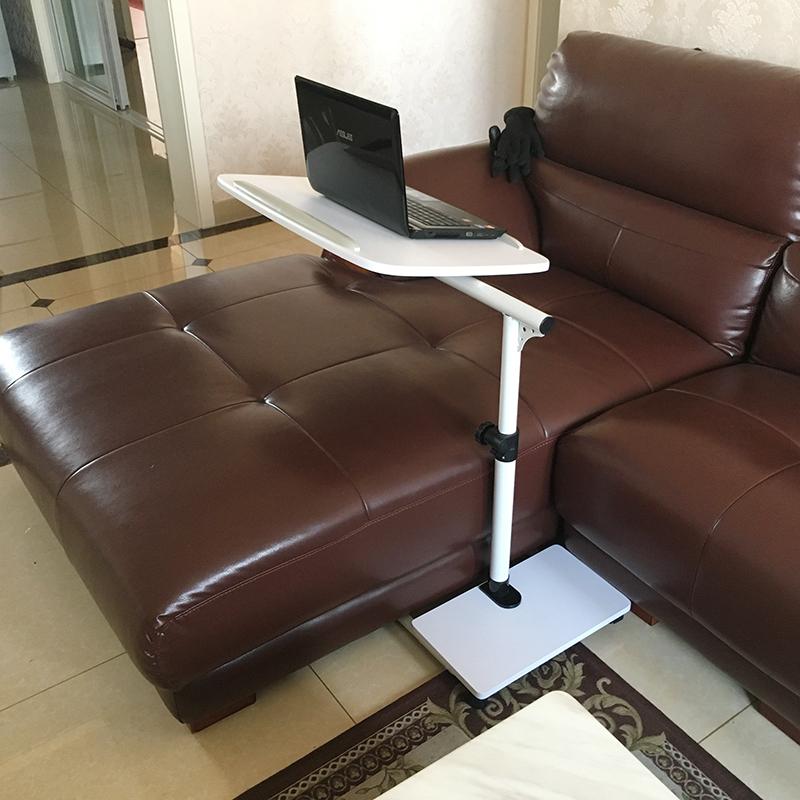 包邮适家床上笔记本电脑桌超低底座床边桌超大桌面可升降移动落地