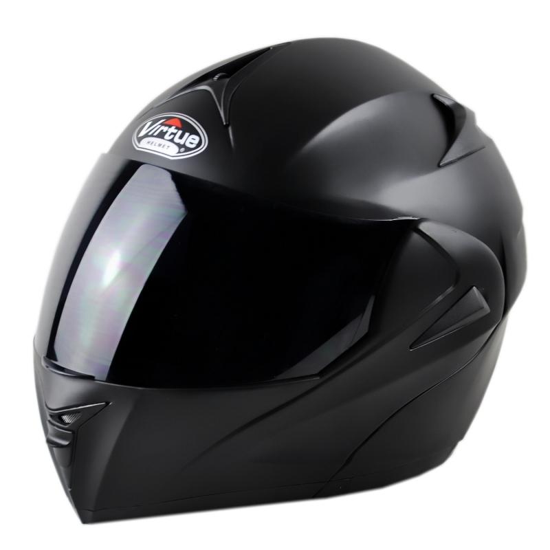 VIRTUE电动摩托车男女蓝牙头盔双镜冬头盔揭面盔全盔半盔四季安全