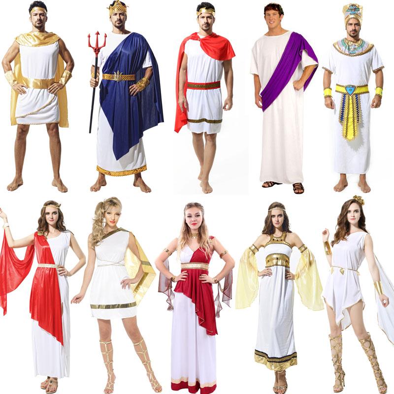 万圣节服装cosplay化妆舞会埃及男法老服装成人古希腊女艳后埃及