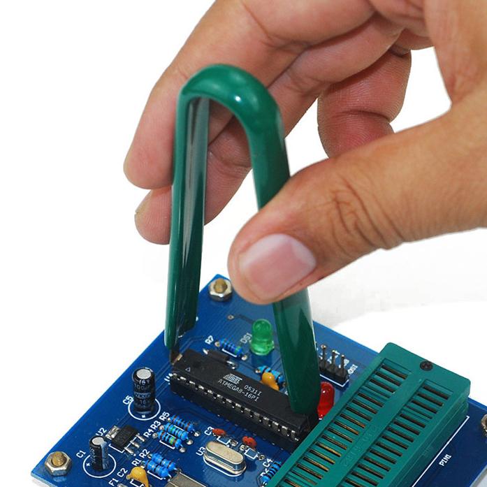 IC起拔器 芯片CPU 集成块拆焊起拔镊子 拆卸夹电子元件拔取器
