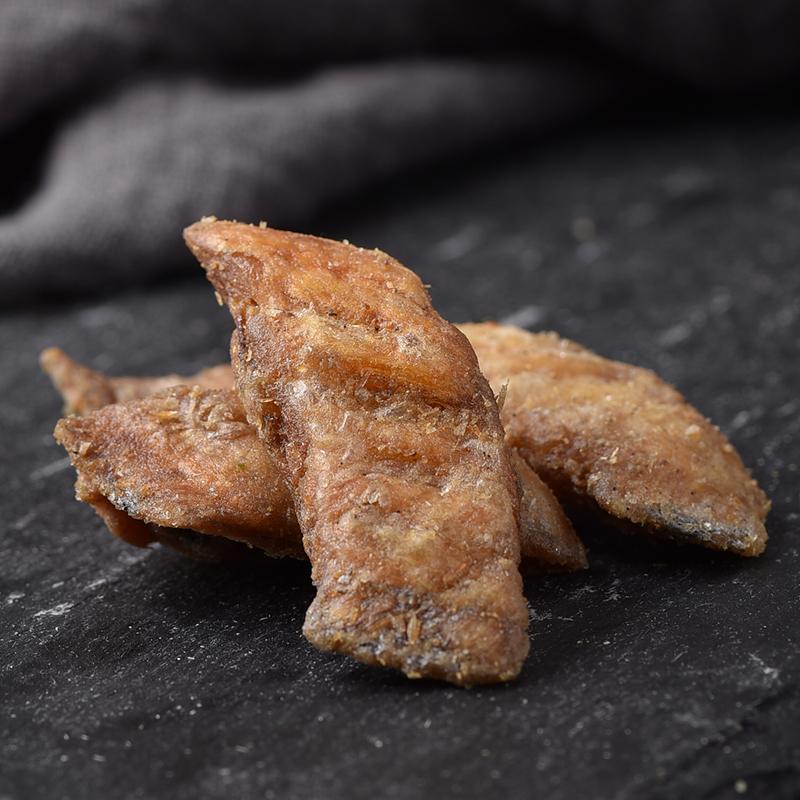 即食带鱼酥零食250g香酥带鱼块小鱼干海鲜特产干货海味休闲小吃