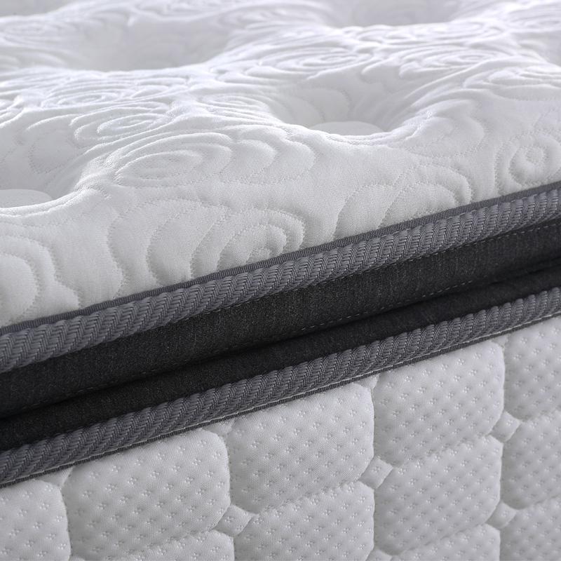 睡眠精灵 米 1.8 天然乳胶床垫三重防螨 3cm 独筒弹簧床垫 慕思床垫